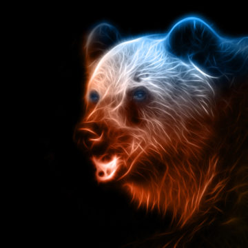 digital fantasy bear