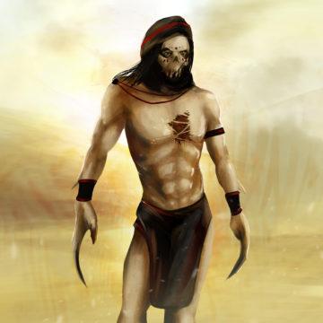 fantasy arab warrior