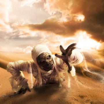sceleton mummy
