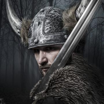 sword, viking warrior